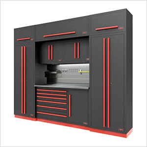 Fusion Pro 9-Piece Tool Cabinet System - The Works (Barrett-Jackson Edition)