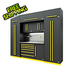 Proslat Fusion Pro 9-Piece Tool Cabinet System - The Works (Yellow)