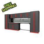 Proslat Fusion Pro 10-Piece Garage Cabinet System - The Works (Barrett-Jackson Edition)