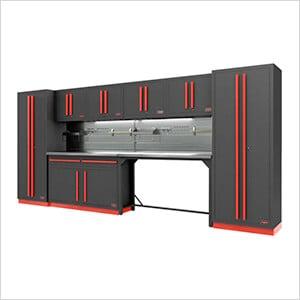 Fusion Pro 10-Piece Garage Cabinet System - The Works (Barrett-Jackson Edition)