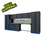 Proslat Fusion Pro 10-Piece Workbench System - The Works (Blue)