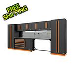 Proslat Fusion Pro 10-Piece Workbench System - The Works (Orange)