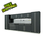 Proslat Fusion Pro 10-Piece Tool Cabinet System - The Works (Silver)