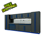 Proslat Fusion Pro 10-Piece Tool Cabinet System - The Works (Blue)