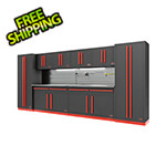 Proslat Fusion Pro 10-Piece Garage Storage System - The Works (Barrett-Jackson Edition)
