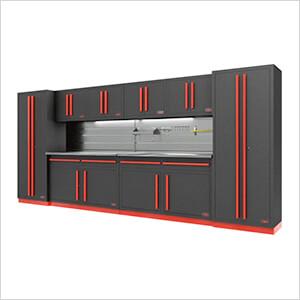 Fusion Pro 10-Piece Garage Storage System - The Works (Barrett-Jackson Edition)