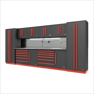 Fusion Pro 10-Piece Tool Cabinet System - The Works (Barrett-Jackson Edition)