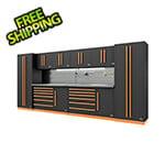 Proslat Fusion Pro 10-Piece Tool Cabinet System - The Works (Orange)