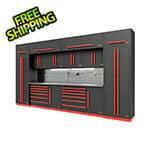 Proslat Fusion Pro 14-Piece Garage Storage System - The Works (Barrett-Jackson Edition)