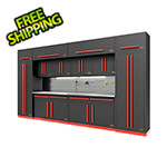 Proslat Fusion Pro 14-Piece Garage Cabinet Set - The Works (Barrett-Jackson Edition)
