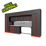 Proslat Fusion Pro 14-Piece Garage Cabinet System - The Works (Barrett-Jackson Edition)
