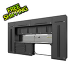 Proslat Fusion Pro 14-Piece Garage Cabinetry System - The Works (Black)