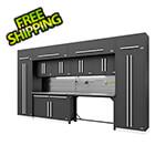 Proslat Fusion Pro 14-Piece Garage Storage Set - The Works (Silver)