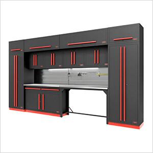 Fusion Pro 14-Piece Garage Storage Set - The Works (Barrett-Jackson Edition)