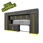 Proslat Fusion Pro 14-Piece Garage Storage Set - The Works (Yellow)