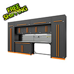 Proslat Fusion Pro 14-Piece Garage Storage Set (Orange)