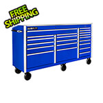 "Proslat Blue 72"" Rolling Tool Chest with Work Surface"