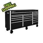 "Proslat Black 72"" Rolling Tool Chest with Work Surface"
