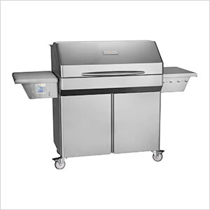 Elite 39-Inch Wi-Fi Controlled 304 Stainless Steel Pellet Grill (Cart)