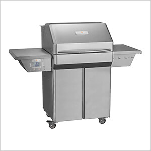 Pro 28-Inch Wi-Fi Controlled 304 Stainless Steel Pellet Grill (Cart)