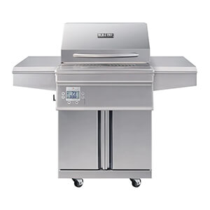 Beale Street 26-inch Wi-fi Controlled 304 Stainless Steel Pellet Grill (cart)