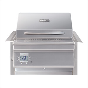Beale Street 26-Inch Wi-Fi Controlled 430 Stainless Steel Pellet Grill (Built-In)