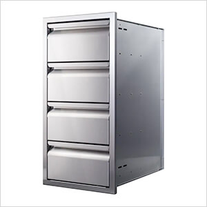 15-Inch Quadruple Access Drawer