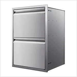 21-Inch Double Access Drawer