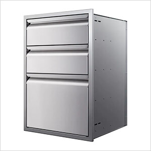 21-Inch Triple Access Drawer