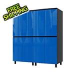 Contur Cabinet 5' Premium Santorini Blue Garage Cabinet System