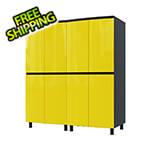 Contur Cabinet 5' Premium Vespa Yellow Garage Cabinet System