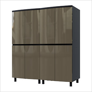 5' Premium Terra Grey Garage Cabinet System
