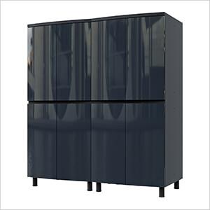 5' Premium Karbon Black Garage Cabinet System
