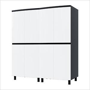 5' Premium Alpine White Garage Cabinet System