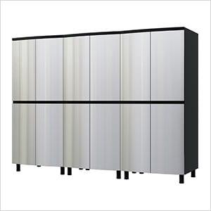 7.5' Premium Stainless Steel Garage Cabinet System