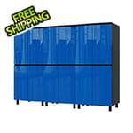 Contur Cabinet 7.5' Premium Santorini Blue Garage Cabinet System