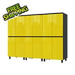 Contur Cabinet 7.5' Premium Vespa Yellow Garage Cabinet System