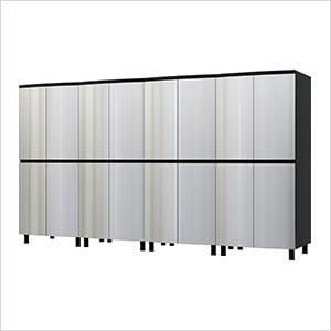 10' Premium Stainless Steel Garage Cabinet System
