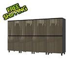 Contur Cabinet 10' Premium Terra Grey Garage Cabinet System