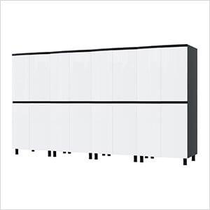 10' Premium Alpine White Garage Cabinet System