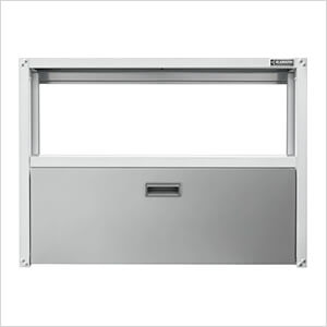 Ready-to-Assemble 42-Inch Foldaway Workstation