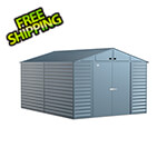 Arrow Sheds Select 10 x 14 ft. Storage Shed in Blue Grey