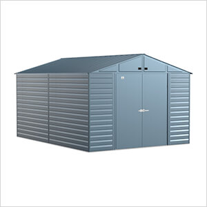 Select 10 x 14 ft. Storage Shed in Blue Grey