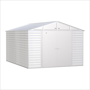 Select 10 x 14 ft. Storage Shed in Flute Grey