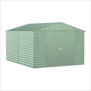 Select 10 x 14 ft. Storage Shed in Sage Green