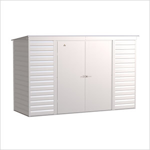 Select 10 x 4 ft. Storage Shed in Flute Grey