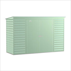 Select 10 x 4 ft. Storage Shed in Sage Green