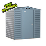 Arrow Sheds Select 6 x 5 ft. Storage Shed in Blue Grey