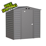 Arrow Sheds Select 6 x 5 ft. Storage Shed in Charcoal