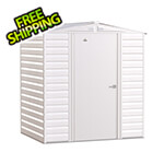 Arrow Sheds Select 6 x 5 ft. Storage Shed in Flute Grey